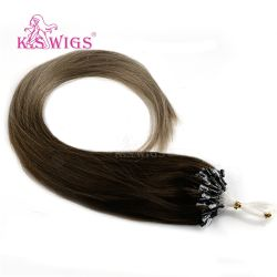 Las Mejores Quanlity Malasia Micro Ring Anillo de micro de alta calidad de cabello fácil pelo Lazo