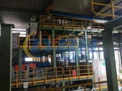 Непрерывное давление в шинах отходов пиролиз регенерации масла завод машины