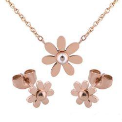 مجوهرات أزياء أزياء أنيقة زهور جميلة عقد الأربطة