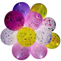 Aufblasbarer LED Latex-Ballon des China-Fabrik-kundenspezifischen Muster-für das Bekanntmachen