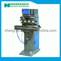 Vier Farben-Auflage-Drucken-Maschine für Farben-halb automatischen Auflage-Drucker der Drucken-Sicherheits-Sturzhelm-Einlegesohlen-1 - 8