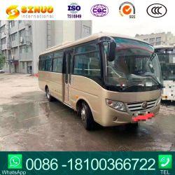 Gebruikte Yutong Bus-dieselmotor met stuur links, bus voor passagiers met 24 zitplaatsen Chinese bus met dieselmotor en stadbus klaar voor verzending Voorraad