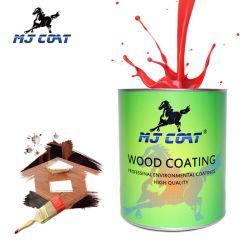 Commerce de gros basé sur l'eau anti-UV résistant aux rayures décorer la peinture pour le bois