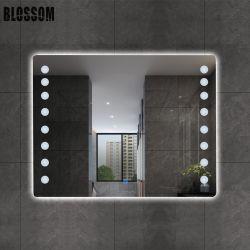 [لد] مصباح غرفة حمّام تفاهة جدار ذكيّة بنية مرآة مع ضوء
