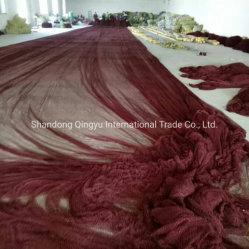 Material de nylon de alta calidad West Aferica Barco de peces marinos monofilamento de color negro de la cuerda de la Sardina Net