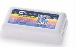 Controlador LED de WiFi RGBW RGBW+AAC con controlador LED Eco Alexa