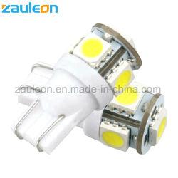 T10 LED warmes Weiß der Birnen-5SMD 5050 für RV-Yacht-Boots-Marine-Licht