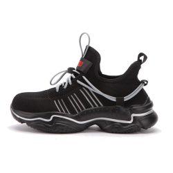 10 лет на заводе спорт без пробуксовки колес работы промышленных мужчин обувь из натуральной кожи стальным носком труда Обувь мужская работа безопасности лодыжки загружается