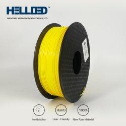1,75 mm ABS filament de l'imprimante 3D couleur noire ABS 3D de filament