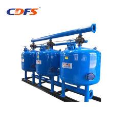 Filtre de support de sable de lavage automatique pour le traitement de l'eau/irrigation
