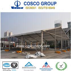 18x25m tienda de aluminio Empresa exposición al aire libre