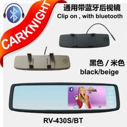specchio di Rearview universale della protezione 4.3-Inch con Bluetooth (RV-430BT)