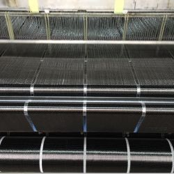 12K 300 جم عرض 10 سم قماش من ألياف الكربون لتعزيز البناء