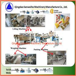 Sanweihe Swfg-590 Pillow-Shape Granel Automática de pesagem de macarrão e máquina de embalagem