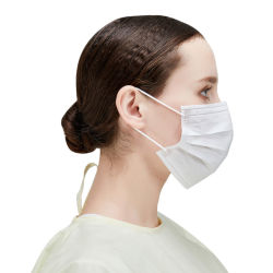 Medizinische Gesichtsmaske Einweg Nicht Gewobene Hochwertige Gesichtsmaske Anti Staub 3ply