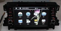 HD خاص بحجم 7 بوصة DIN مزدوج 800*480 DVD للسيارة الرقمية GPS لـ Mazda CX-5