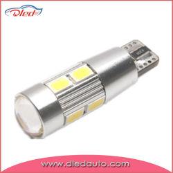 T10 (194) высокого напряжения шины CAN Авто светодиодная лампа с объективом