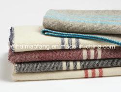 30%70%polyester/laine mélangée /couverture militaire de l'armée