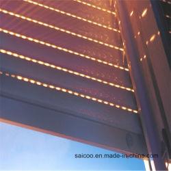 알루미늄 롤러 셔터 창 프로파일(사용자 지정 색상