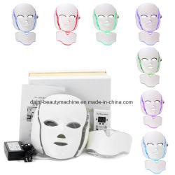 7 couleurs PDT Masque facial à LED de photons Rajeunissement de la peau rides de la beauté de l'équipement électrique Dépose antivieillissement