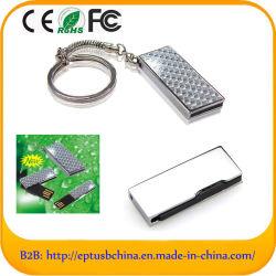 O logotipo personalizado Mini pendrive USB com o chaveiro (ED013)