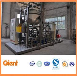 Apparatuur voor het afvoeren van biologisch en medisch afval