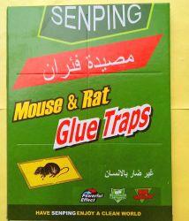 Presa di carta adesiva appiccicosa della colla dell'insetto di controllo dei parassiti della zanzara della mosca della blatta dei mouse del ratto del mouse
