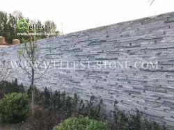 La pila de muro de piedra de granito natural de piedra de granito del panel de revestimiento repisa de piedra de cultura