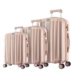 Hanke Trolley personalizada maleta de equipaje de viaje bolsas de comercio al por mayor Hard Shell viajar Ruleta Juegos de equipaje