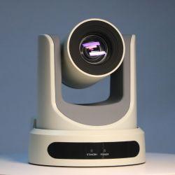 Sortie SDI optique Ndi-Hx PTZ 20x 4K 30X Poe de conférence vidéo en streaming en direct caméra PTZ