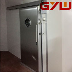 Porta Auto-Sliding para armazenamento a frio /Sala Fria/folha única