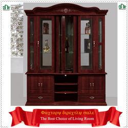 Haut de gamme classique bois armoire à vin 849# quatre portes armoire à vin