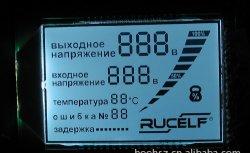 車装置で使用されるStn LCDの表示