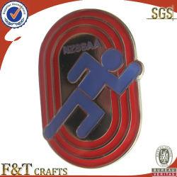 Vêtement rectangulaire en métal élégant de l'artisanat d'un insigne (fdbg0101W)