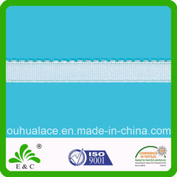 Cinghia elastica decorativa One-Side del reggiseno del lato posteriore della peluche della barriera