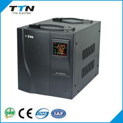 PC-ACR Triac управления 5000VA введен контроль компьютеризированной одна фаза AC автоматический стабилизатор напряжения дома