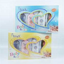 Regalo delicato puro 2in1best di sicurezza sana naturale di Parya per il contenitore di regali della lozione 4in1 della polvere dell'olio di bambino dello sciampo del miele del bambino impostato (shampoo+powder+lotion+oil)