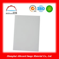 Folha de PVC branco A4 para impressão a jacto de tinta de plástico PVC