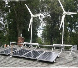 Solar&の風総合システム5キロワット