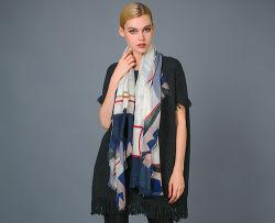 Sjaal van het Kasjmier van de Ring van het Kamgaren van het Kasjmier van Alashan de Digitale Afgedrukte
