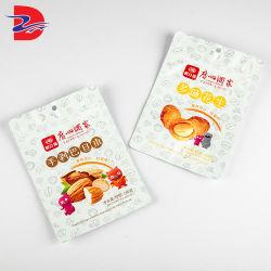 Impressão personalizada de embalagem dos alimentos Bag Zipper Bolsa de embalagens para a Porca Snacks