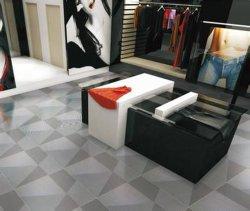 O design interior vidrada Azulejos do piso Porcelanto metálico (jl6505)