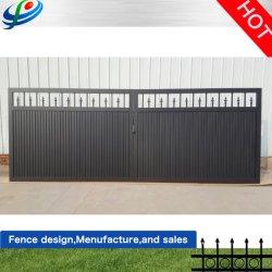산업 구역 입구 슬라이딩/스윙 철 금속 게이트 자동 게이트 도어 하드웨어(제조업체)