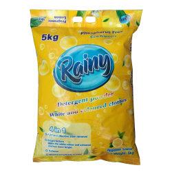 5kg fragrância Natural detergentes em pó de Lavagem