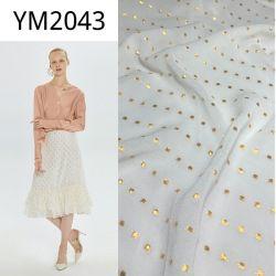 Seta del filato dell'oro di alte mode di Haute del rayon della viscosa 45% di Ym9337 55% come per il vestito