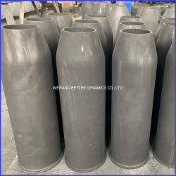 Prezzo poco costoso dei tubi sisic del bruciatore di alta resistenza di temperatura dell'ugello del carburo di silicone