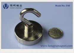 E48 Super Power NdFeB gancho magnético / Pot / Magneto magneto de gancho