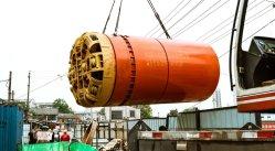 Ysd1800 máquina de elevação do tubo de rocha para tubos de esgoto para RCP