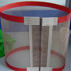 Tissu en fibre de verre recouvert de téflon PTFE bon marché de la courroie de maillage de convoyeur