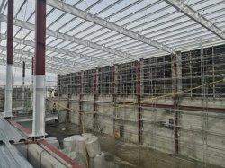 Structure en acier préfabriqués entrepôt logistique de la Construction avec importante remise